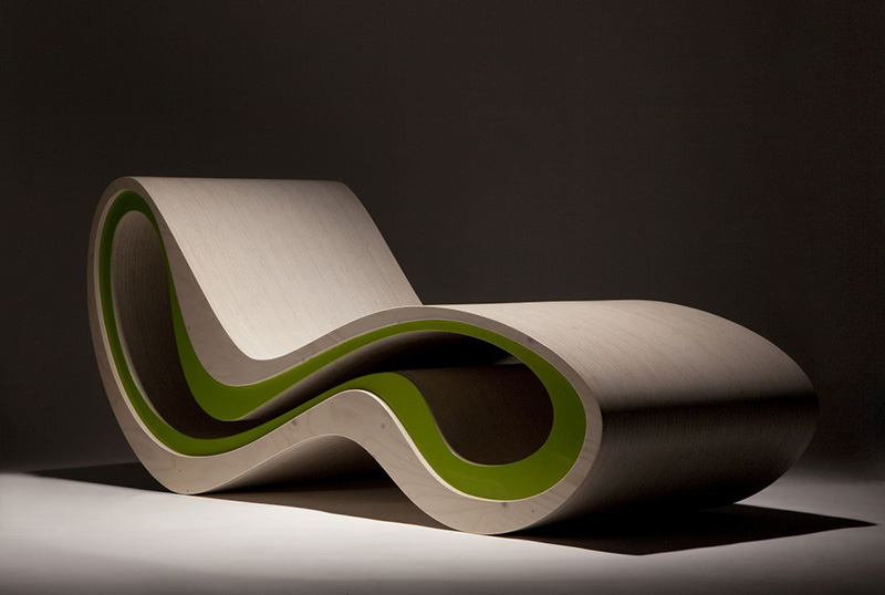 High roller lounge chair by karim rashid - Modern furniture designs ...
