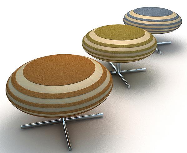 Honeybee stool by Juil Kim 3