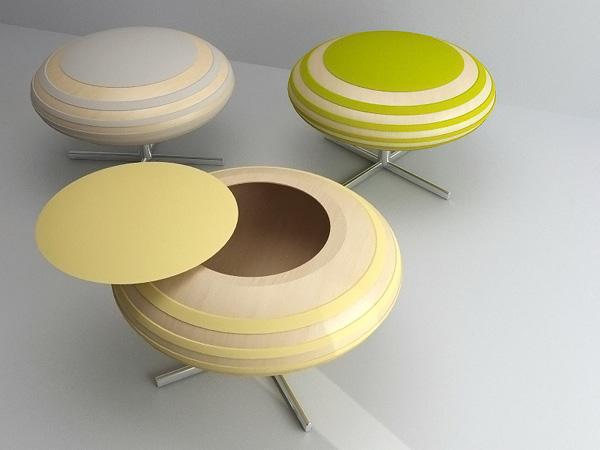 Honeybee stool by Juil Kim 4
