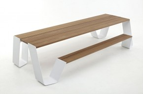 The Hopper Table And Seat By Extremis