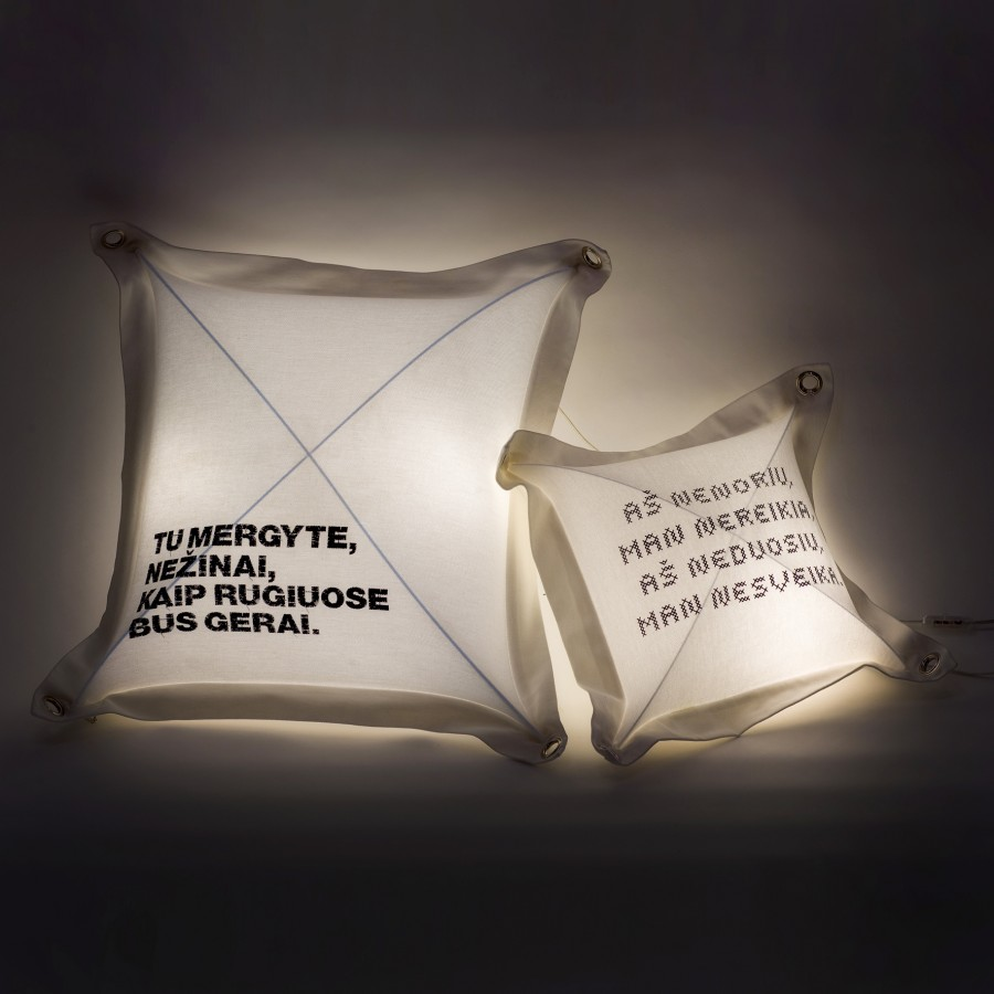 Light Pillow With Built-in lamp