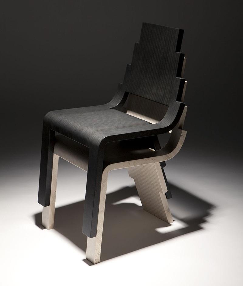 Maya stackable chair design by Karim Rashid 1