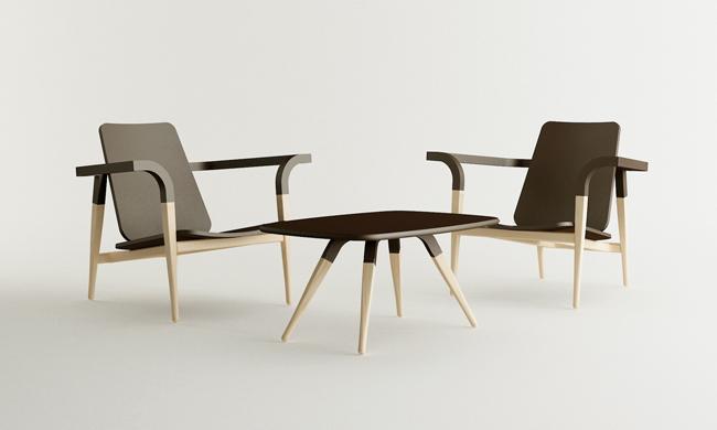 Modernantique chair set by Cho Hyung Suk design 1