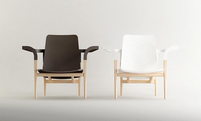 Modernantique chair set by Cho Hyung Suk design 2