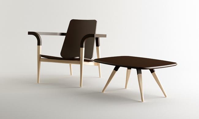 Modernantique chair set by Cho Hyung Suk design 3