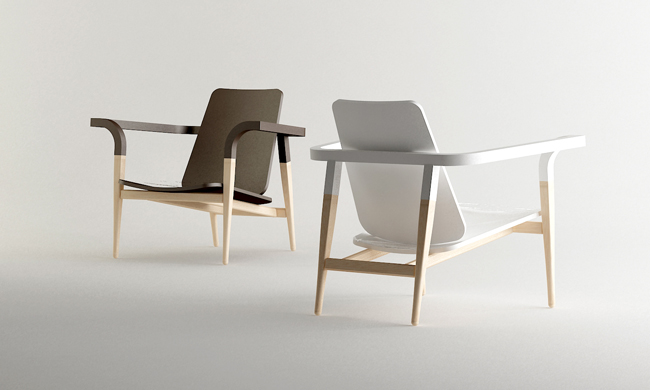 Modernantique chair set by Cho Hyung Suk design 4