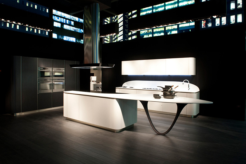 ola futuristic kitchen by snaidero - Futuristic Kitchen