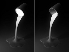 Pouring Light Bedroom Lamp Design By Yeongwoo Kim