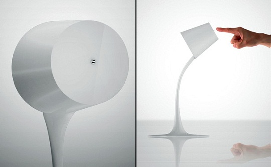 Pouring Light lamp by Yeongwoo Kim 2