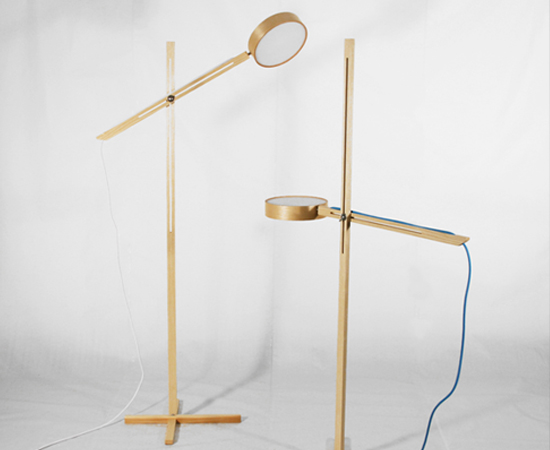 Axis Floor Lamp by Bao-Nghi Droste Design 2