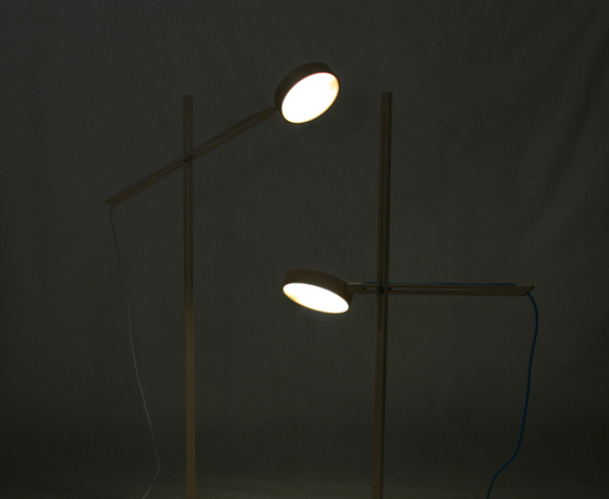 Axis Floor Lamp by Bao-Nghi Droste Design 4