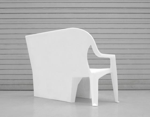 Bench Chair by Thomas Schnur 2