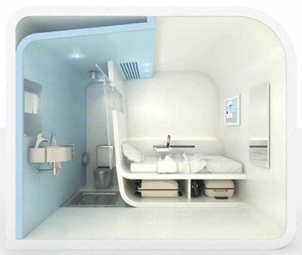 Dream And Fly Micro Hotel Concept