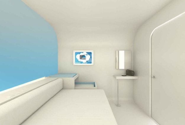 Dream and Fly Micro Hotel Concept 6