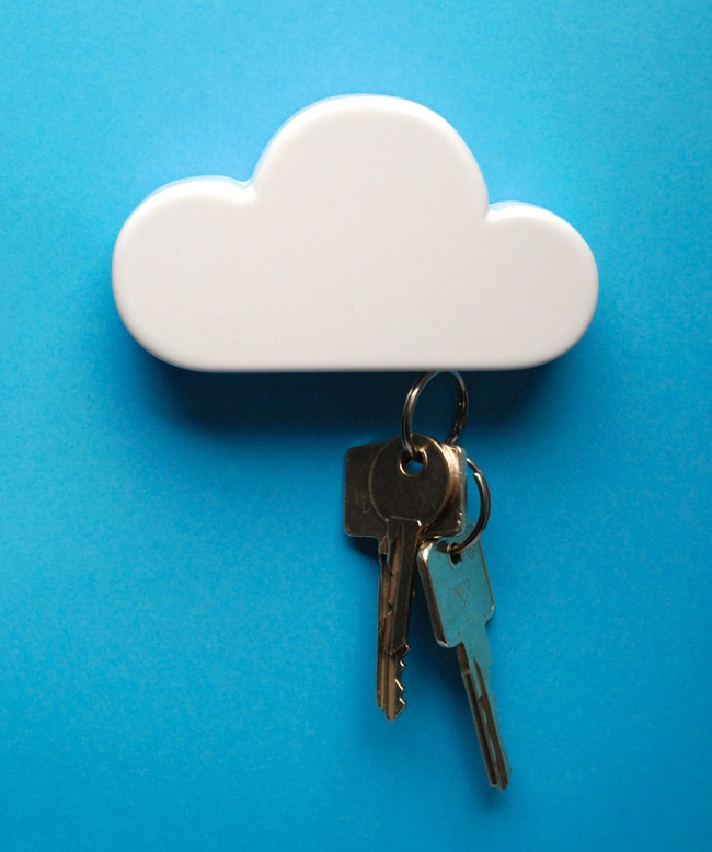 Cloud Magnetic Keyholder by Duncan Shotton 1