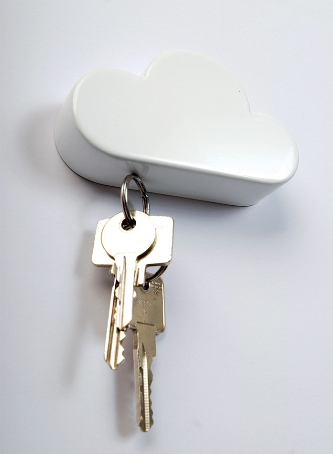 Cloud Magnetic Keyholder By Duncan Shotton
