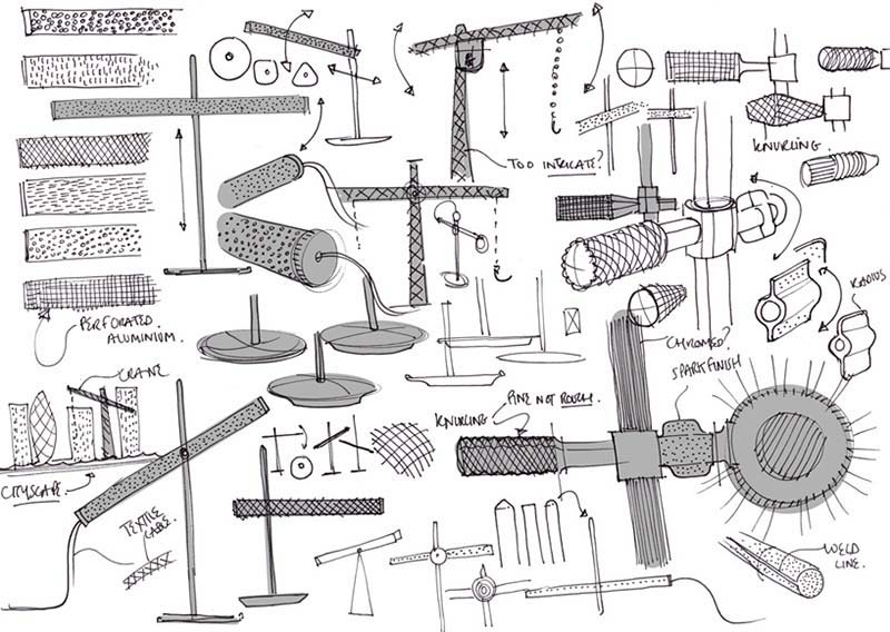 Crane Task Lamp by Benjamin Hubert for Orsjo 6