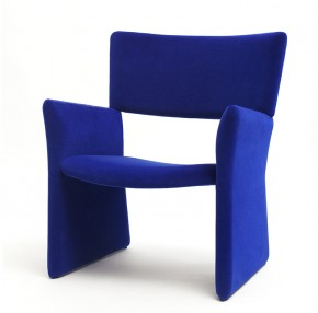 Crown Upholstered Armchair by Massproductions