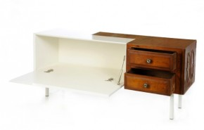 Duo - Old Cabinet Integrated Into Modern Furniture