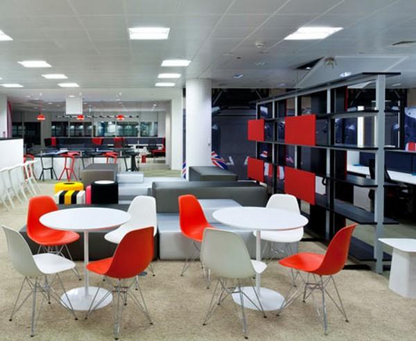 Google London Office Interior design by Scott Brownrigg 3