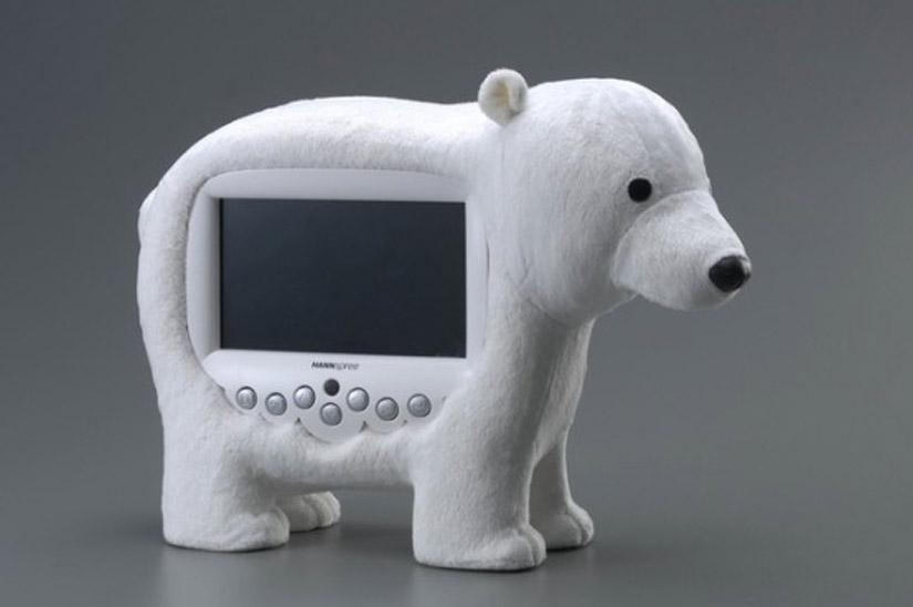 HANNSpree Novelty LCD TV Polar Bear