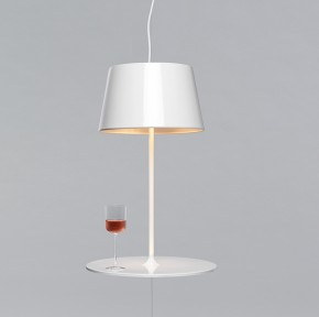 Illusion Lamp cum Table by Hareide Design