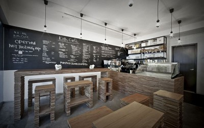 Kith Cafe Interior Design by Hjgher