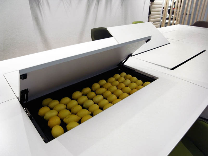Kuubo office Table by Naoto Fukasawa for Vitra 2