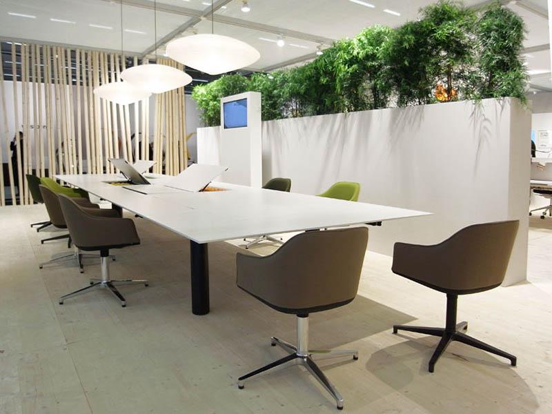 Kuubo office Table by Naoto Fukasawa for Vitra 4