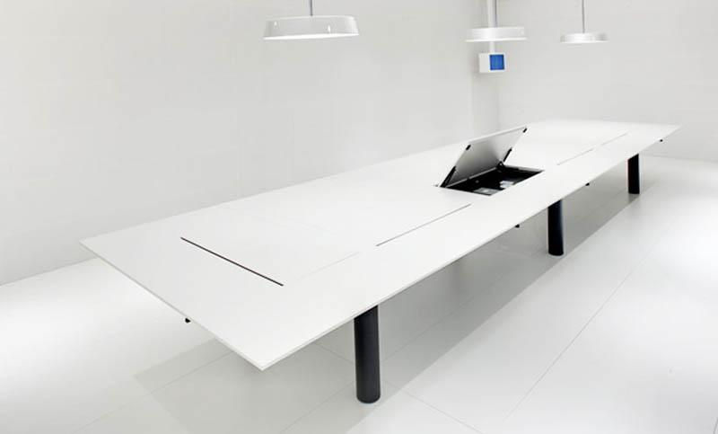 Kuubo office Table by Naoto Fukasawa for Vitra 5
