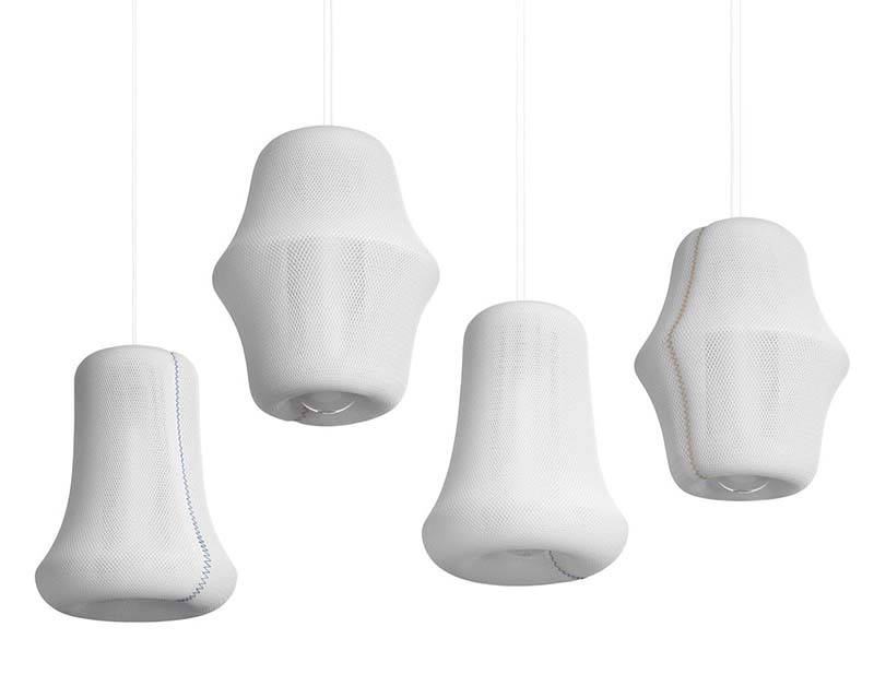 Loom Pendant Lamp by Benjamin Hubert 4