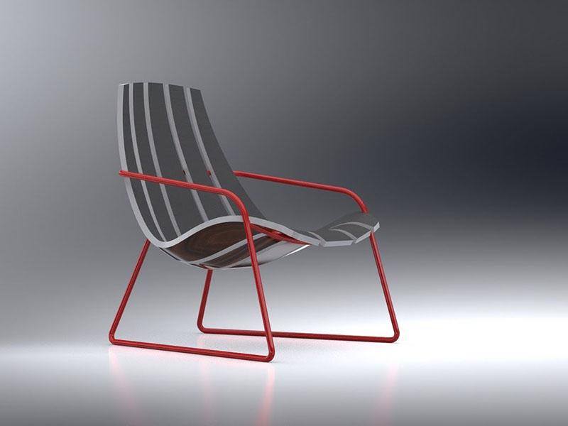Lounger Chair by Bram Sawatazky 1
