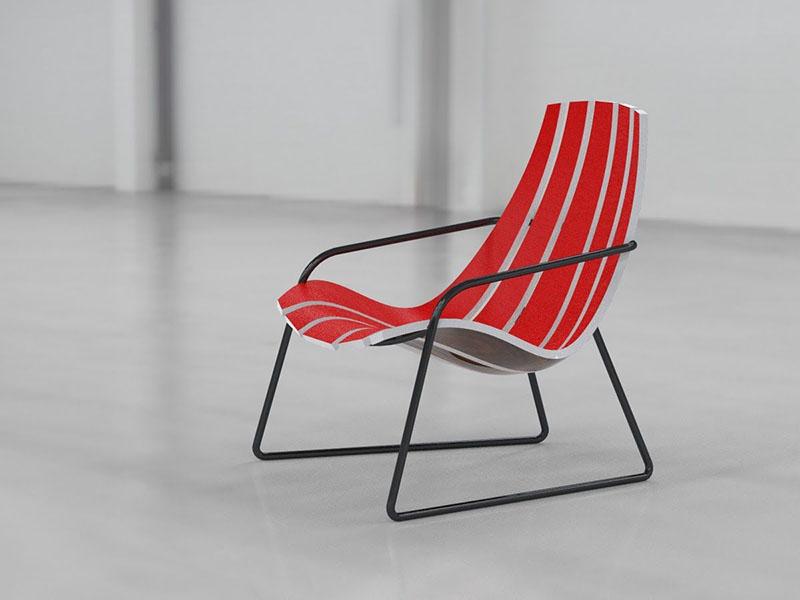 Lounger Chair by Bram Sawatazky 2