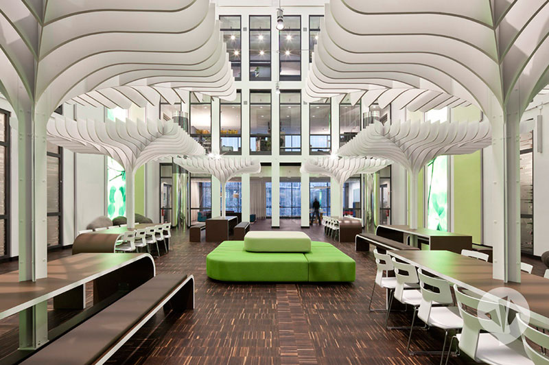 MTV Networks Headquarters Berlin Interiors by Dan Pearlman 1