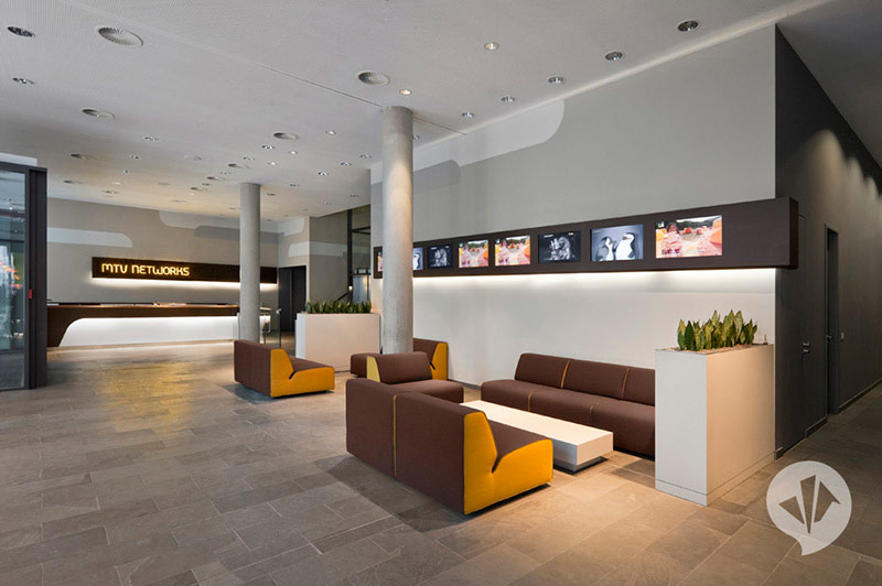 MTV Networks Headquarters Berlin Interiors by Dan Pearlman 5
