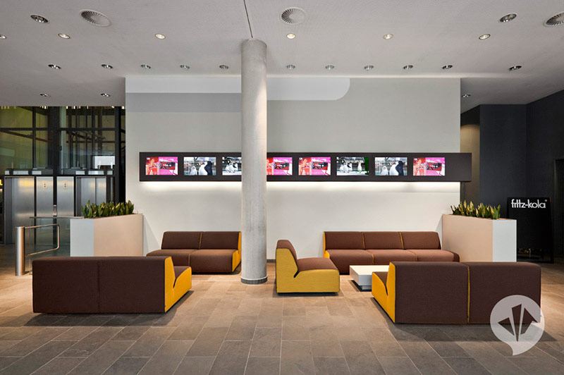 MTV Networks Headquarters Berlin Interiors by Dan Pearlman 6