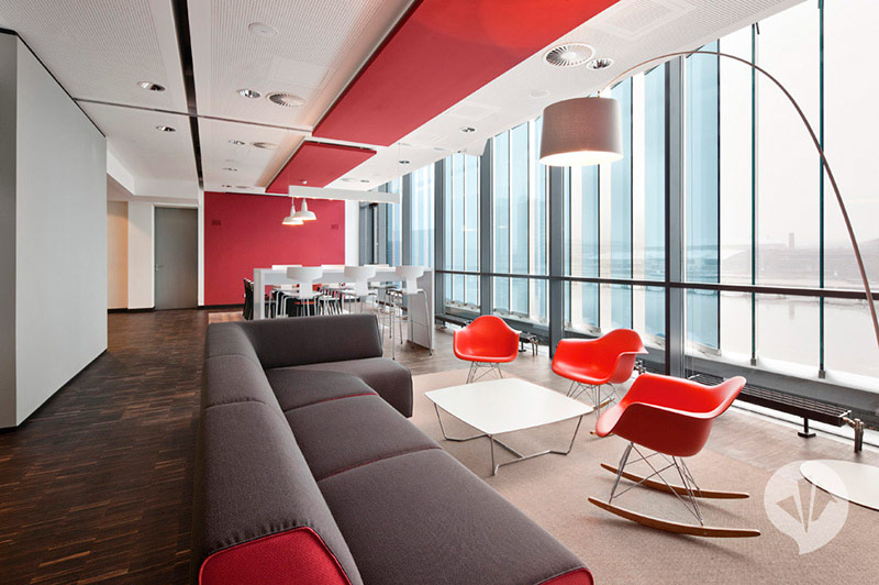 MTV Networks Headquarters Berlin Interiors by Dan Pearlman 8
