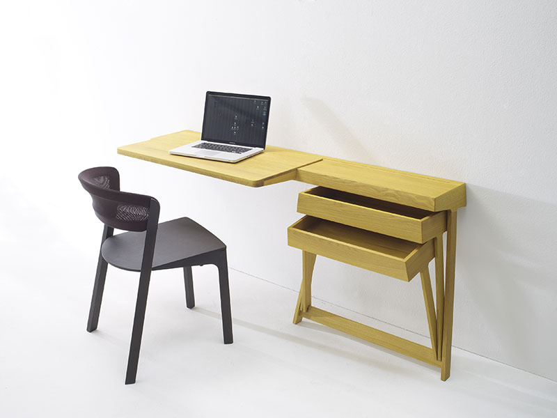 Pivot Desk And Pivot Vanity by Shay Alkalay 1