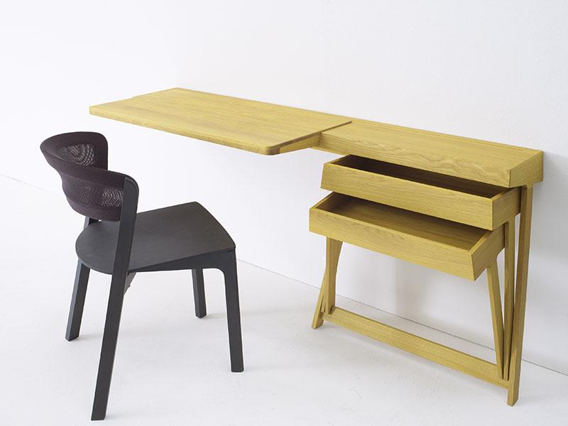 Pivot Desk And Pivot Vanity by Shay Alkalay 2