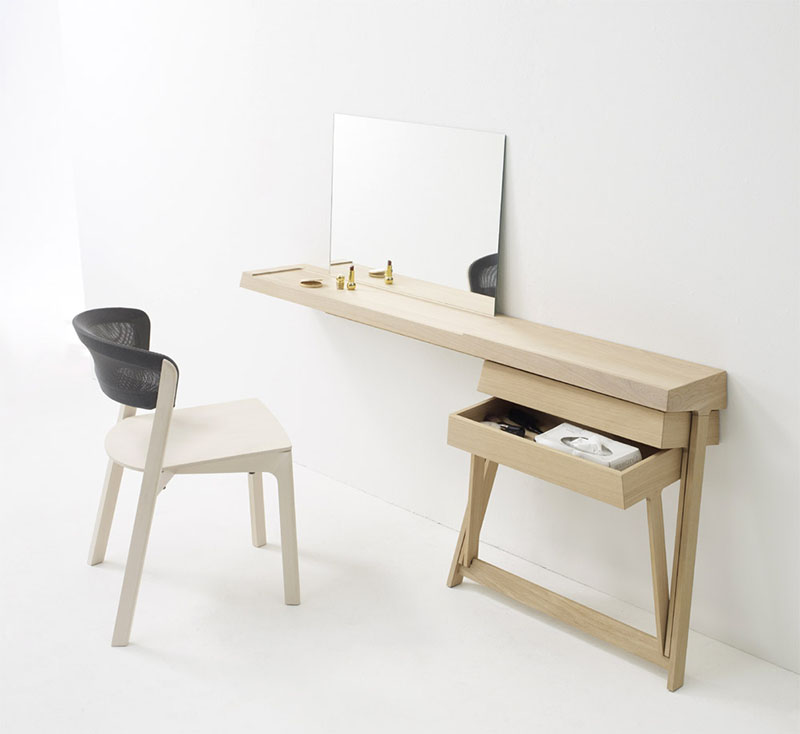 Pivot Desk And Pivot Vanity by Shay Alkalay 3