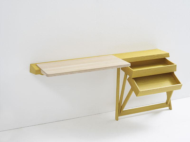 Pivot Desk And Pivot Vanity by Shay Alkalay 8