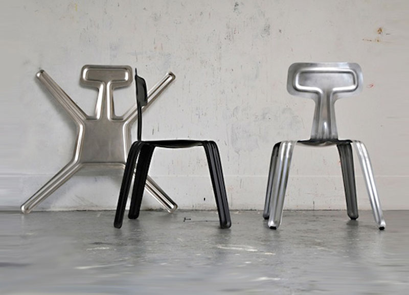 Pressed Chair by Harry Thaler 1