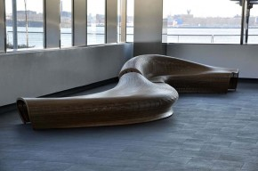 Spill Bench Seating by Matthias Pliessnig
