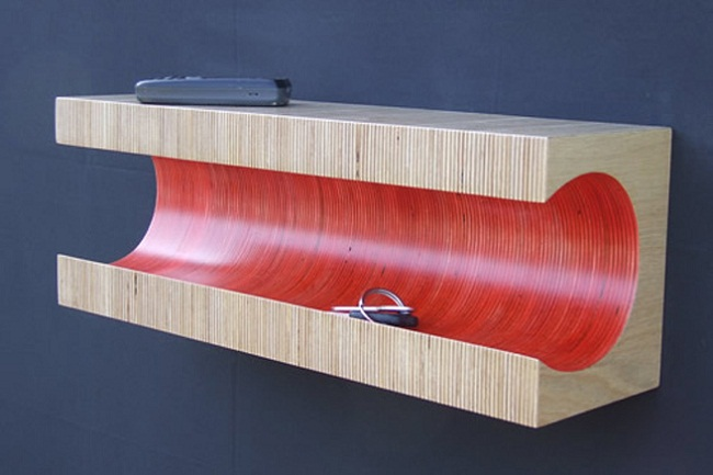 Summer Colored Striped Shelf by Martin Gallagher 1