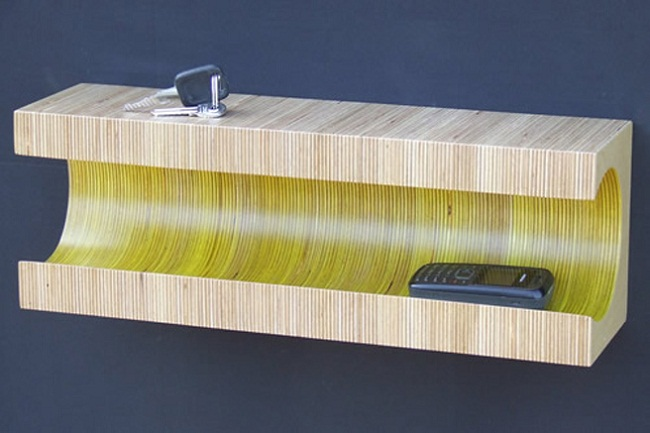 Summer Colored Striped Shelf by Martin Gallagher 2