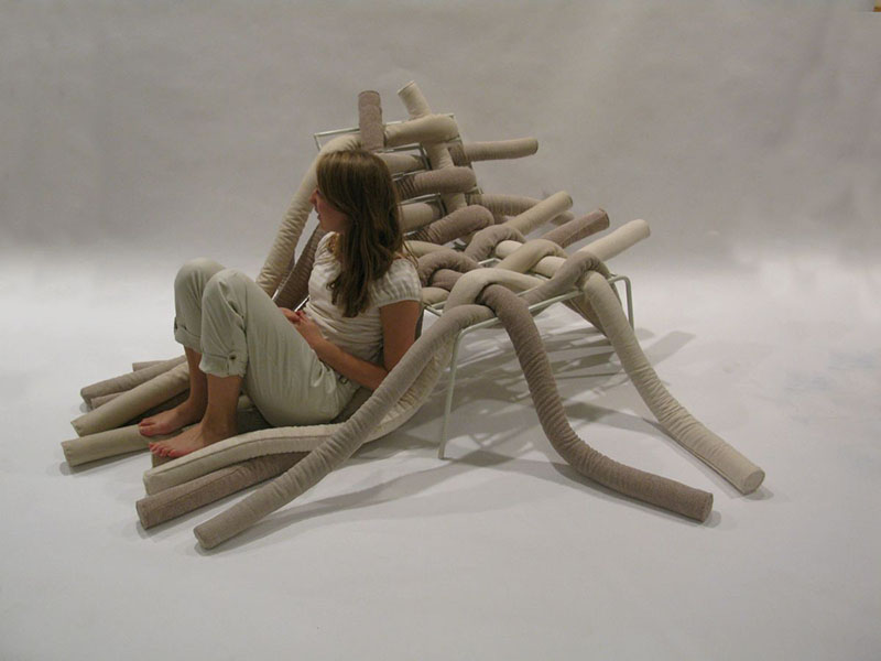 TubeME chair design by Ellinor Ericsson 1