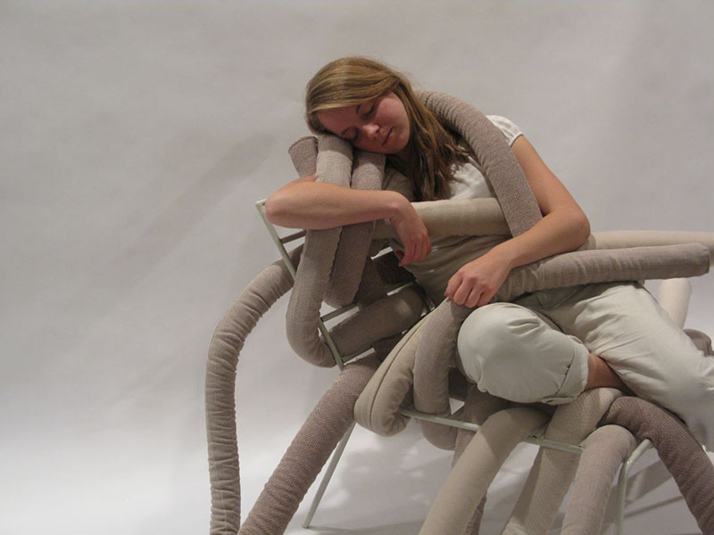 TubeME chair design by Ellinor Ericsson 2