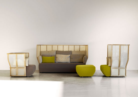 Xistera Seating Furniture by Samuel Accoceberry and Jean-Louis Iratzoki 1