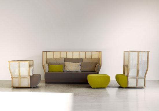 Xistera Seating Furniture by Samuel Accoceberry and Jean-Louis Iratzoki 1