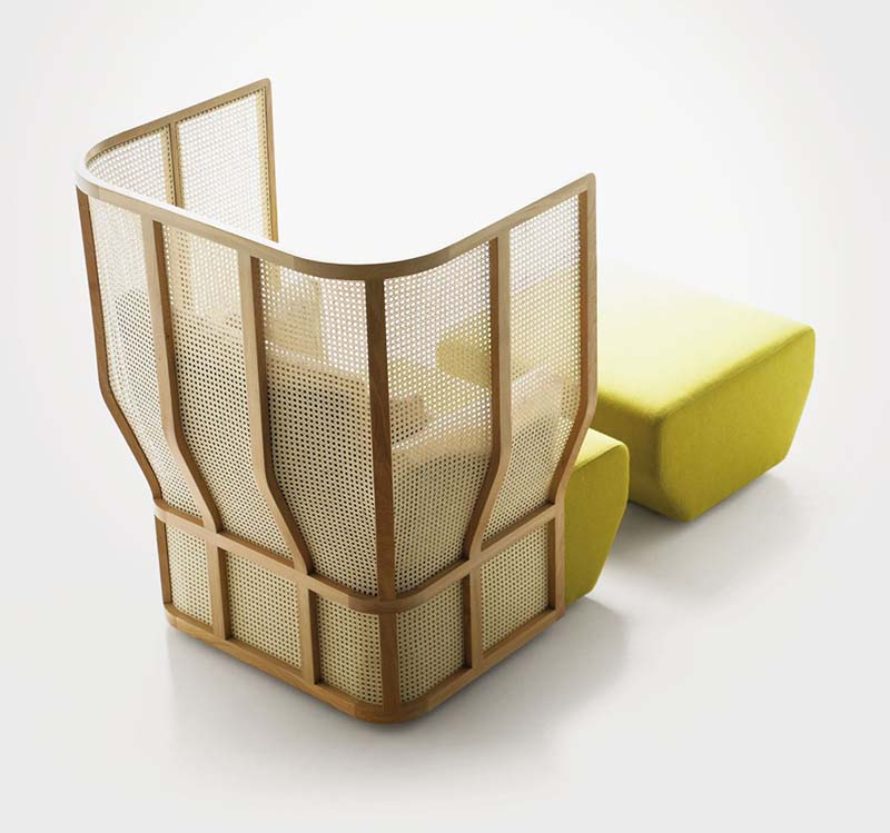 Xistera Seating Furniture by Samuel Accoceberry and Jean-Louis Iratzoki 4